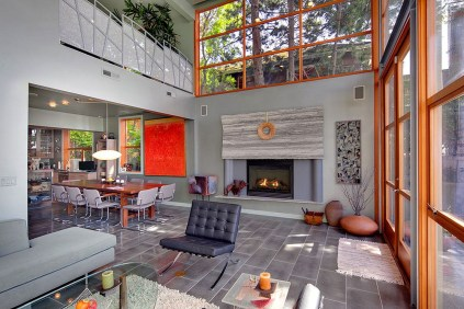 Waterfront Townhome Boasts Cool Urban Style