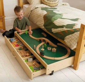 Drawer Under The Bed for Creative Ideas for Playground at Home