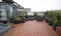 Floor for Make a Beautiful and Attractive Rooftop Garden