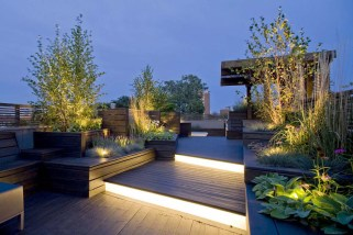 Lighting for Make a Beautiful and Attractive Rooftop Garden