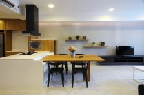 Space Differentiator for Modern Urban Style Home Decor
