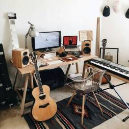 Small Music Studio At Home