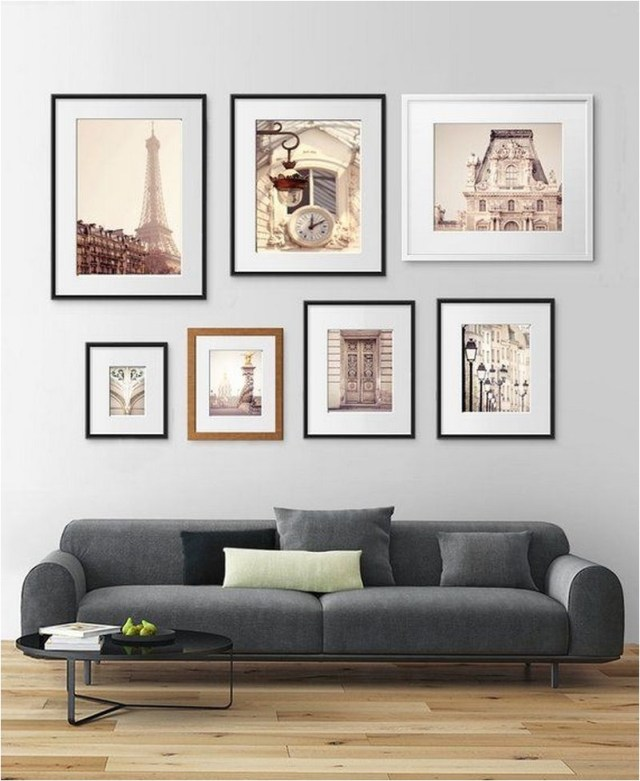 Arrange Vertically Small And Big Photo