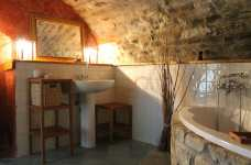 Bathroom for Rustic-style Luxury House Design