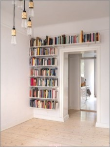 Bookshelf In Wall Ideas