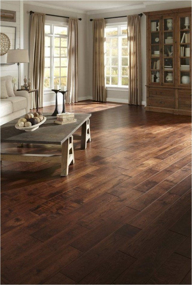 Brady French Oak Floor Rustic Home