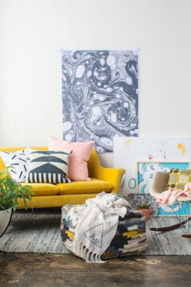 Colorful Sofa For Living Room