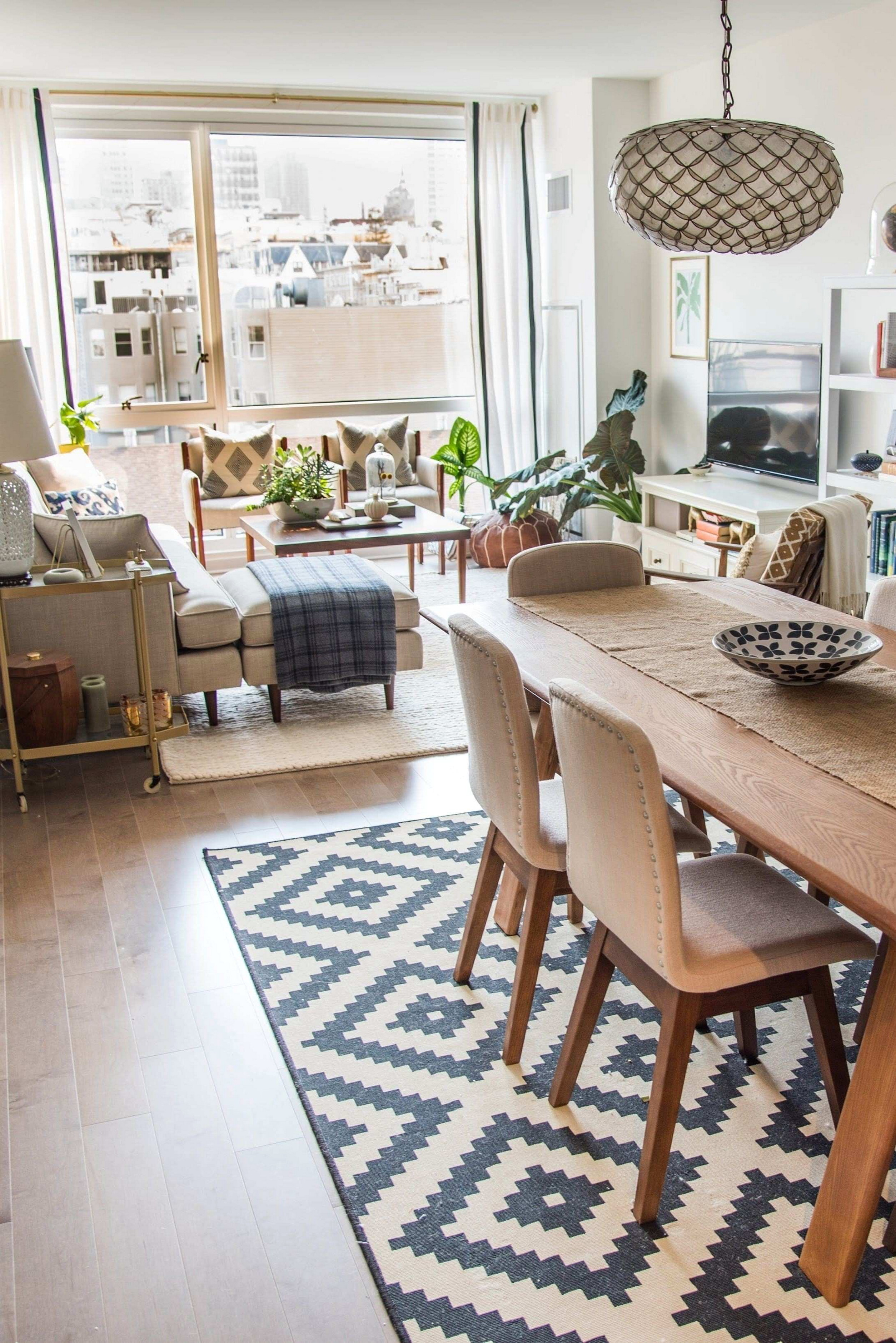 Decorating Ideas For Open Concept Living Room And Kitchen ...