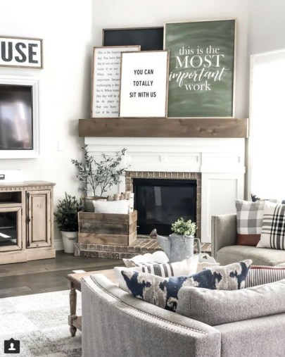 Framed Quotes For Instagramable Living Room