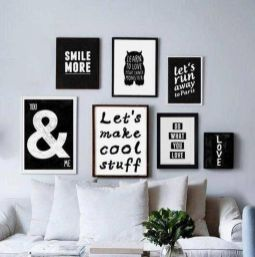 Framed Quotes for Instagramable Guest Room
