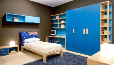 Furniture Color and Wall Paint for Bedroom for Teenage Boys