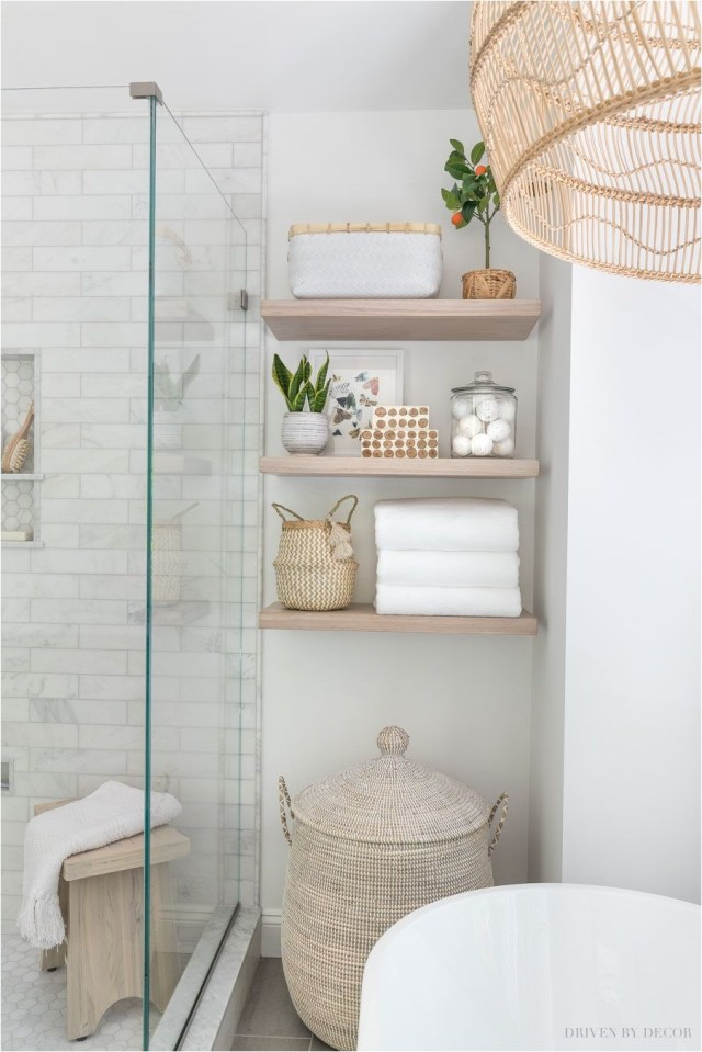 Glass Divider Make Bathroom Look More Spacious