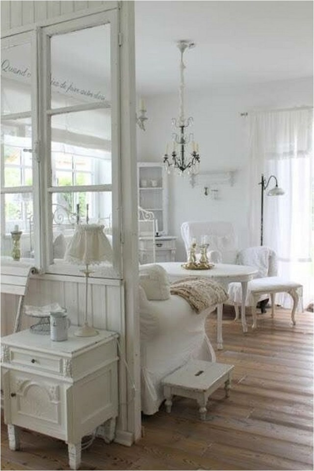 Glass Partitions Shabby Chic Home Decorations