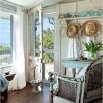 Half Glass Door Beach Shabby Chic Home Ideas