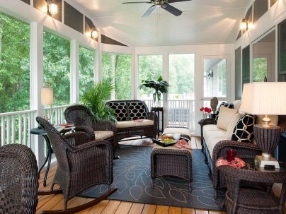 Patio Decorating Ideas With Rattan Furniture