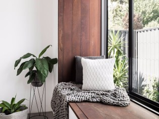 Relaxing Space for Utilization of Corner Space in the House