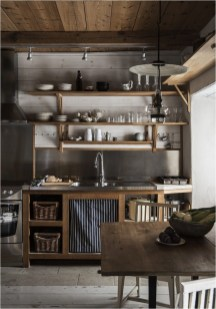 Rustic Industrial Kitchen Decorations
