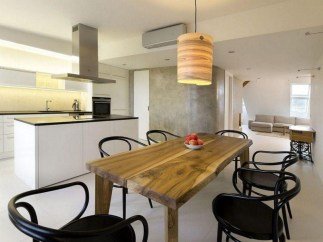Simple Wooden Table Design Ideas For Rustic Look In Modern Dining Room