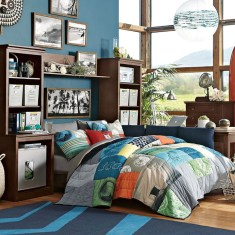 Small Bedroom Ideas For Teenage Boys With Great Natural Lighting