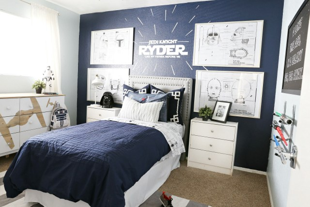 Star Wars Boy's Room Makeover