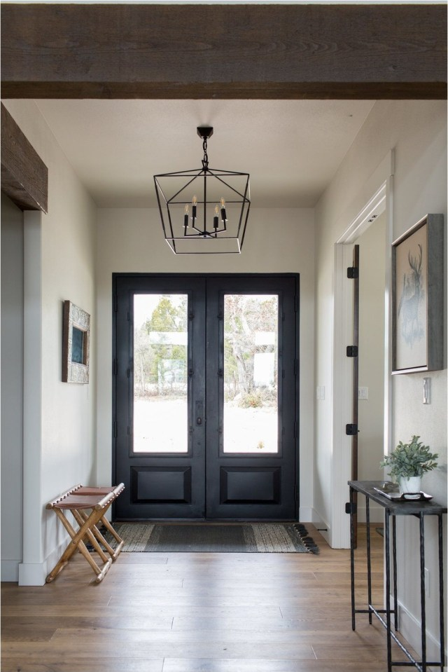 Star Lantern In Entry Way