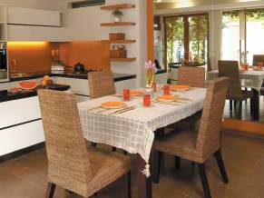 Table Placement for Open Style Dining Room