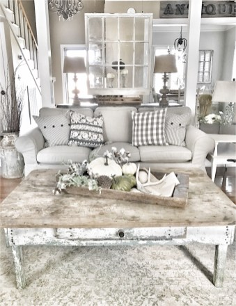 Vintage Old Coffee Table For Shabby Chic Home Decorations