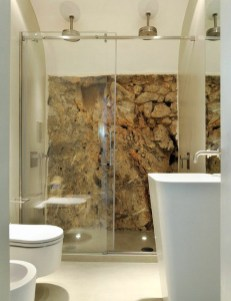 Wall Stone Bathroom Ideas