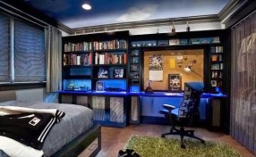 Blue Shades for Bedroom for Teenage Boys
