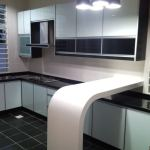Black and White for Kitchen Design Ideas with Amazing Wall Decorations