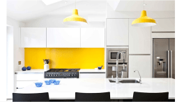 Capture for Kitchen Design Ideas with Amazing Wall Decorations