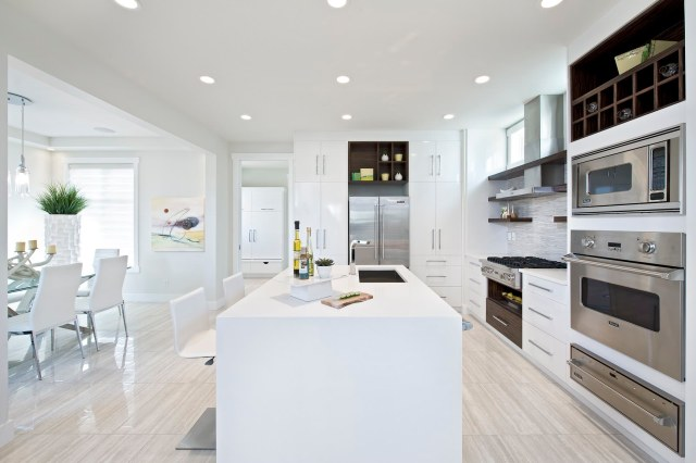 Metal for All-White Style House Design