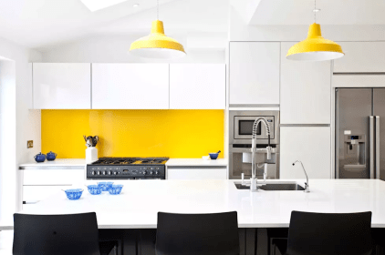 Pop Combination For Kitchen Design Ideas With Amazing Wall Decorations