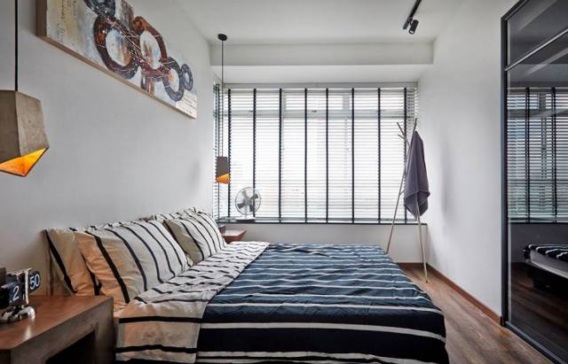 Rural Art for Amazing Contemporary Bedroom Inspiration