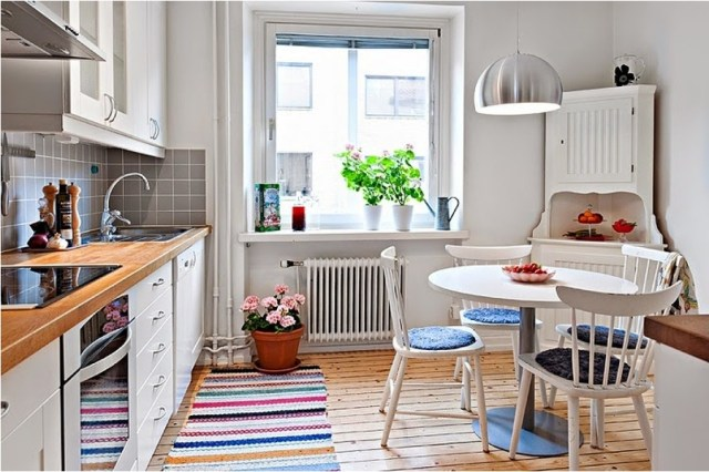 White Kitchen Ideas With Matching Color