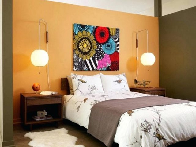 Asian Theme for Tips on Applying Orange Color to Your Bedroom