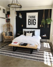 Black And White Bedroom Color Combinations