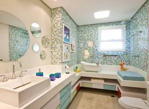 Image Contemporary Kids Bathroom With Clawfoot Tub