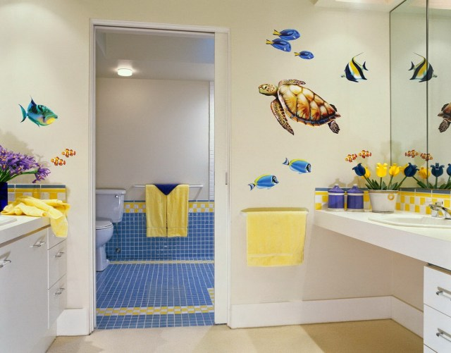 Kids Bathroom Oceanic Theme