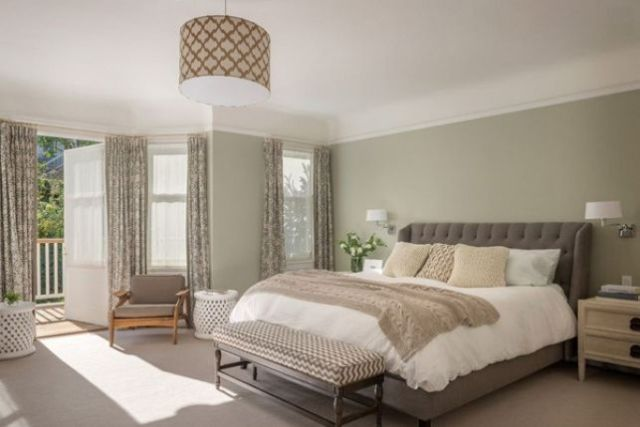 Light and Classic for Master Bedroom with Various Interest Colors