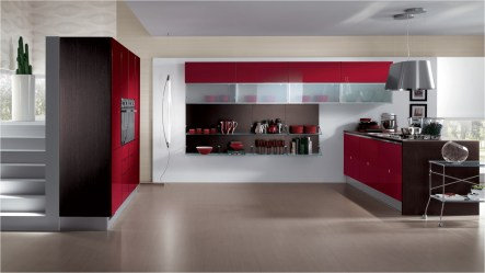Trendy And Classy Red Kitchen Ideas
