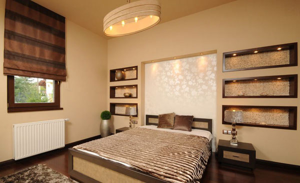 Wall Accents for Artistic Elements in Bedroom Decorations