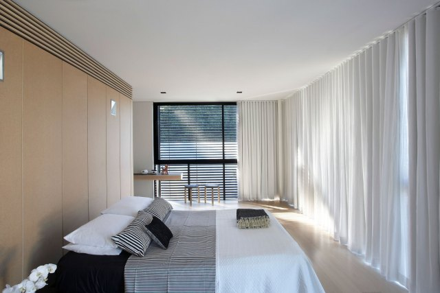 Length Curtain for Designing Korean Style Minimalist Bedroom