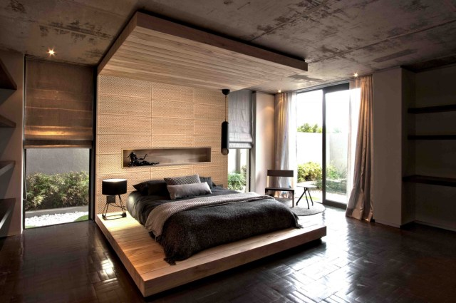Wood Elements for Designing Korean Style Minimalist Bedroom