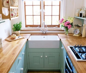 Efficient for Charming Small Kitchen Design