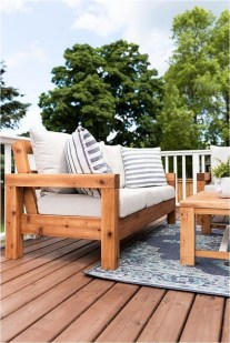 Stripe Sofa Cushions For Outdoor