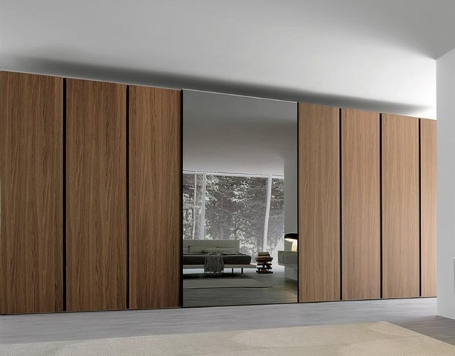 Teak Wood for Wardrobe Designs that Appropriate to Your Bedroom Theme