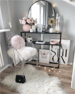 Acrylic Bedroom Dresser With Black Frame