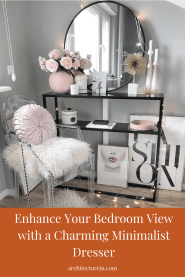 Enhance Your Bedroom View With Charming Minimalist Dresser