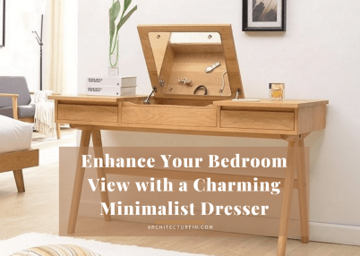 Enhance Your Bedroom View With A Charming Minimalist Dresser